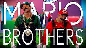 Mario Brothers Title Card