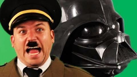 Darth Vader vs Hitler. Epic Rap Battles of History 2-3