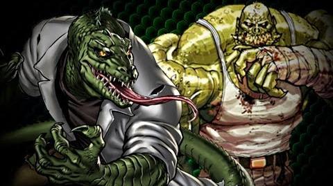 Killer Croc VS The Lizard - Comic Book Rap Battles - Vol. 2, Issue 3