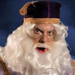 Pete as Dumbledore