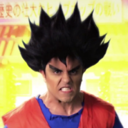 Goku In Battle