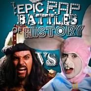 Genghis Khan vs Easter Bunny