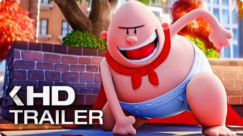 CAPTAIN UNDERPANTS The First Epic Movie Trailer (2017)