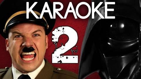 KARAOKE ♫ Hitler vs Vader 2. Epic Rap Battles of History