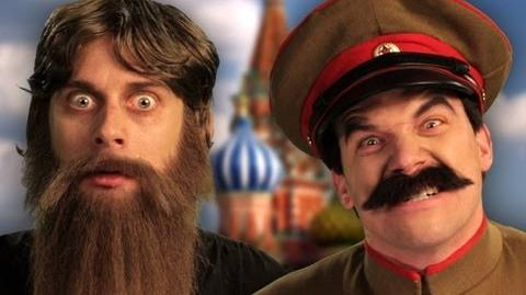 Rasputin vs Stalin. Epic Rap Battles of History Season 2 finale