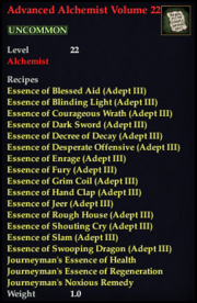 Advanced Alchemist Volume 22