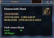Demoncloth Hood