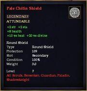 Pale Chitin Shield