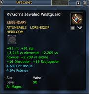 Ry'Gorr's Jeweled Wristguard