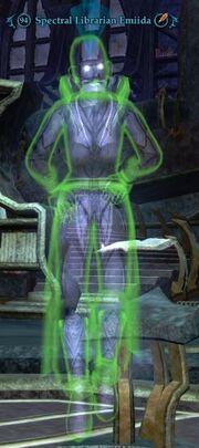 Spectral Librarian Emiida (Shadowed Corridors)