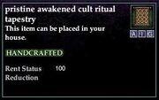 Awakened Cult Ritual Tapestry
