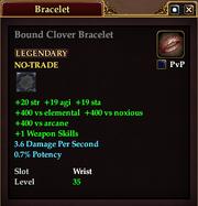 Bound Clover Bracelet
