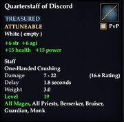 Quarterstaff of Discord