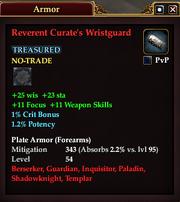 Reverent Curate's Wristguard