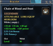 Chain of Blood and Frost