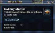 Fayberry Muffins (House Item)