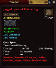 Jagged Spear of Butchering