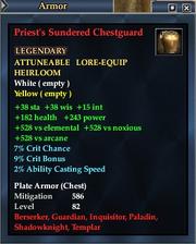 Priest's Sundered Chestguard