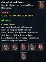 Gore-Imbued Boots