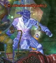 A Ykeshan wraithwarder