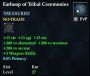 Earhoop of Tribal Ceremonies