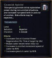 Gnomish Spirits!
