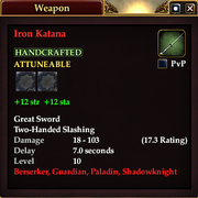Iron Katana