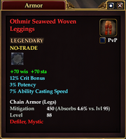 Othmir Seaweed Woven Leggings