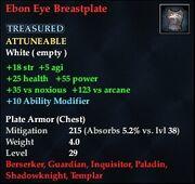 Ebon Eye Breastplate