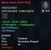 Runic Book of the Peak