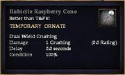 Rubicite Raspberry Cone