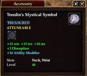 Treedin's Mystical Symbol