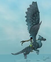 Snow Gryphon (Flying)
