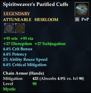 Spiritweaver's Purified Cuffs