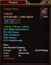 Unholy Mace (95)