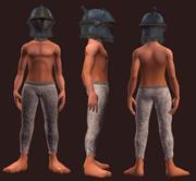 Battleworn Gruengach Plated Visor (Equipped)