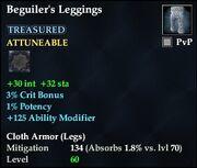Beguiler's Leggings