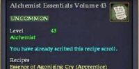 Alchemist Essentials Volume 43