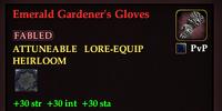 Emerald Gardener's Gloves