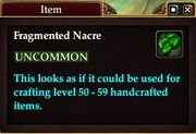 Fragmented Nacre