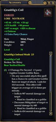Grunblig's Coil