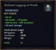 Brilliant Leggings of Worth