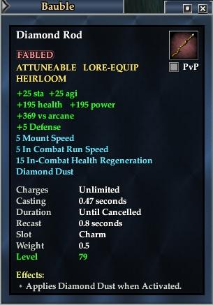 Diamond Rod