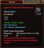 Quel'ule Defender Wristbraces