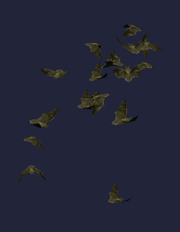 Bat Swarm Plushie (Visible)