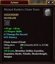 Wicked Raider's Chain Tunic