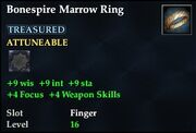 Bonespire Marrow Ring