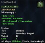 Lead Symbol