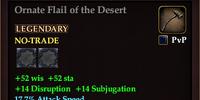 Ornate Flail of the Desert