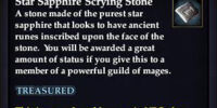 Star Sapphire Scrying Stone